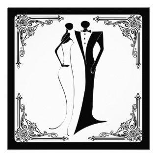 Couple clipart black tie Couples Clip (40+) wear Art