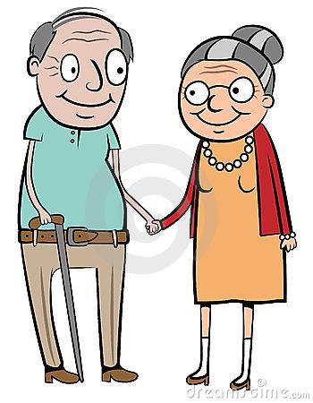Real World clipart to live Elderly Elderly Elderly couple Clipart
