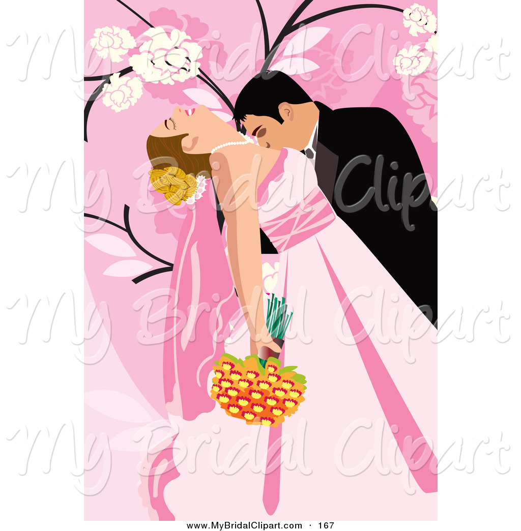 Couple clipart pink Pink a Pretty Loving Background