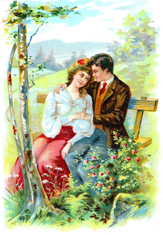 Couple clipart romantic couple Romantic Romantic Clipart Couples Old