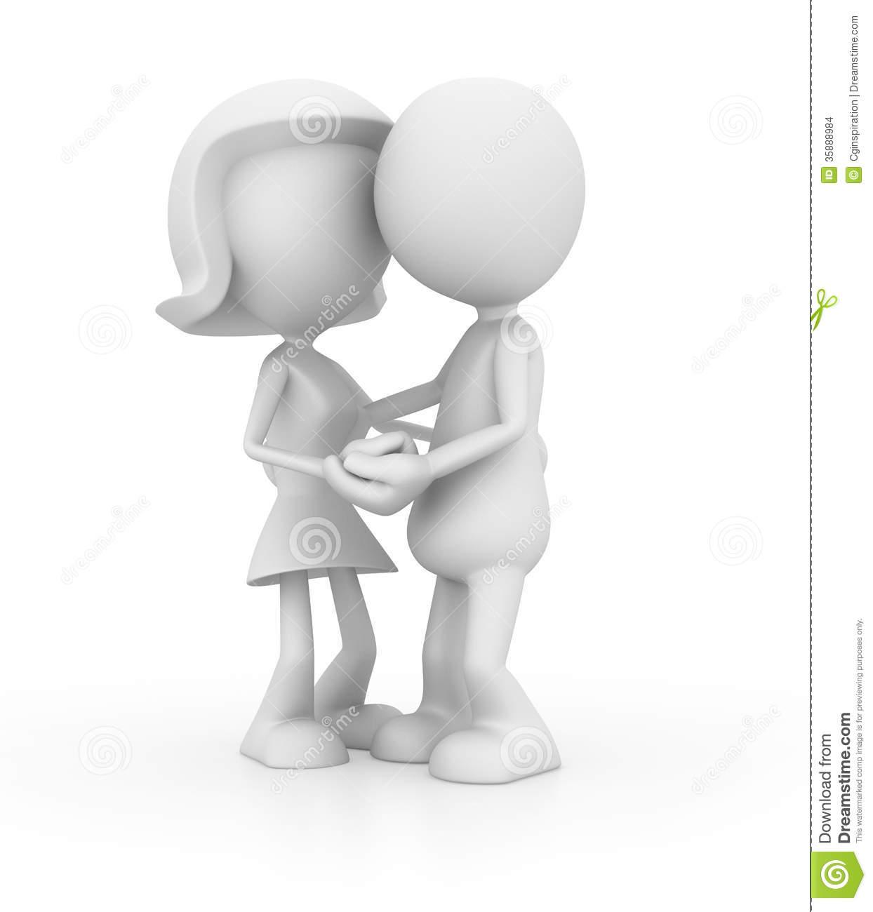 Couple clipart romantic couple Couple 3d Romantic  clipart