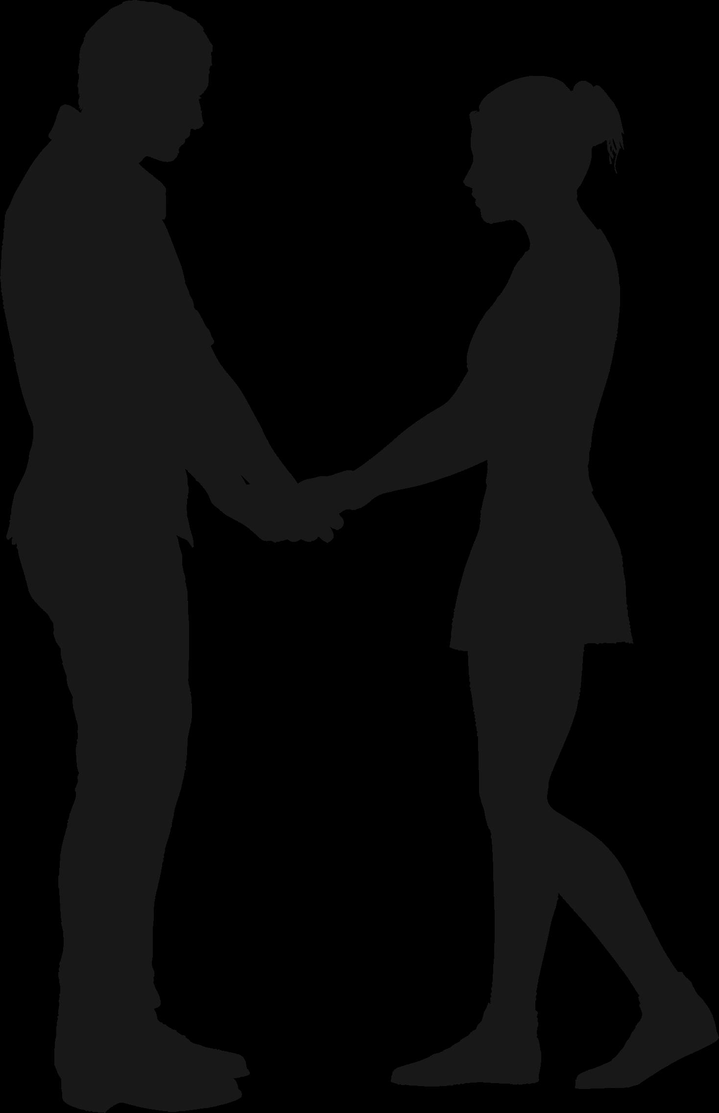 Couple clipart transparent Silhouette 6 Couple 6 Couple
