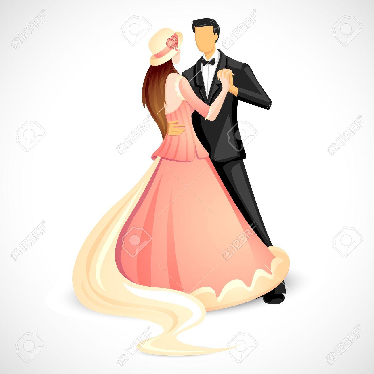 Danse clipart wedding couple Art Wedding Couple Clip Art