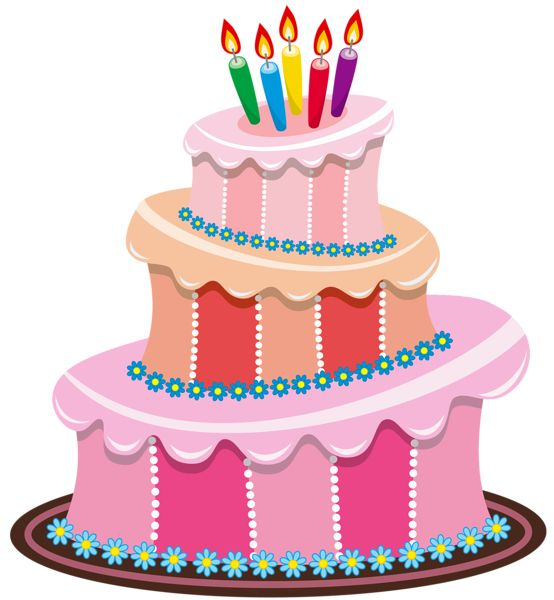 3D clipart birthday cake Cakes images Free Picture… best