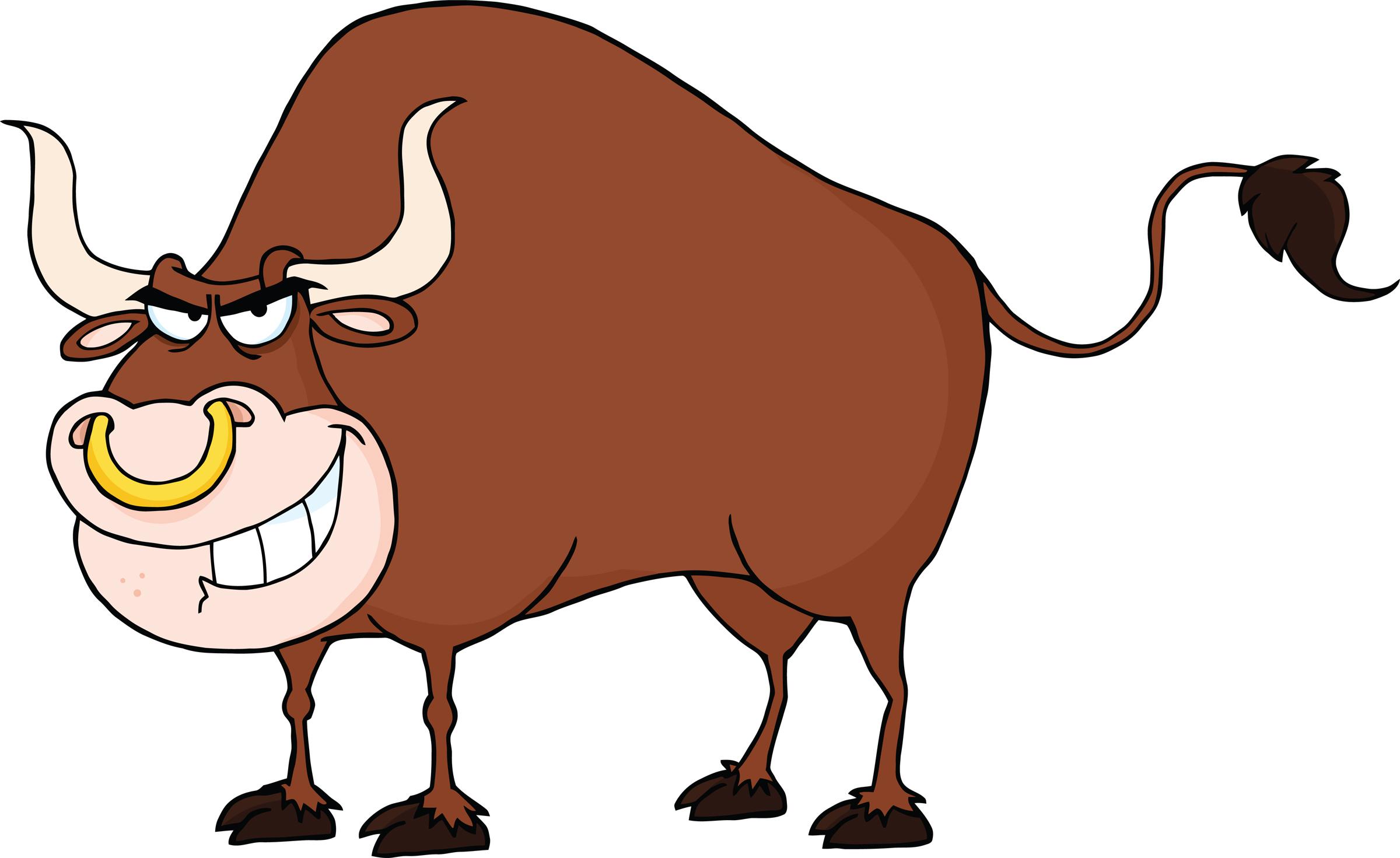 Bull clipart cute Cartoon Clip Images Art