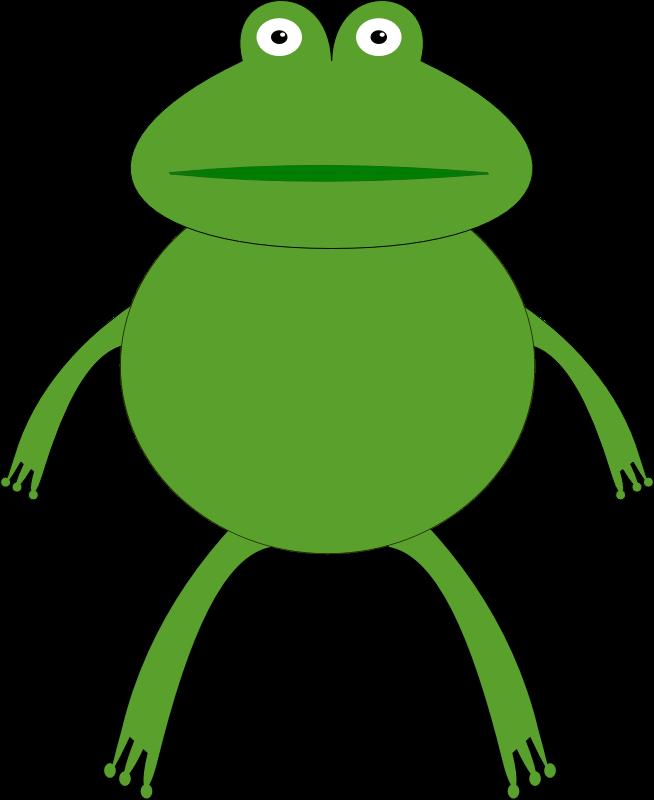 Amphibian clipart green thing Art Free Domain Clip frog17