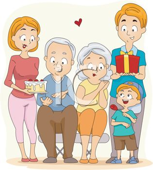 Party clipart grandma Best on
