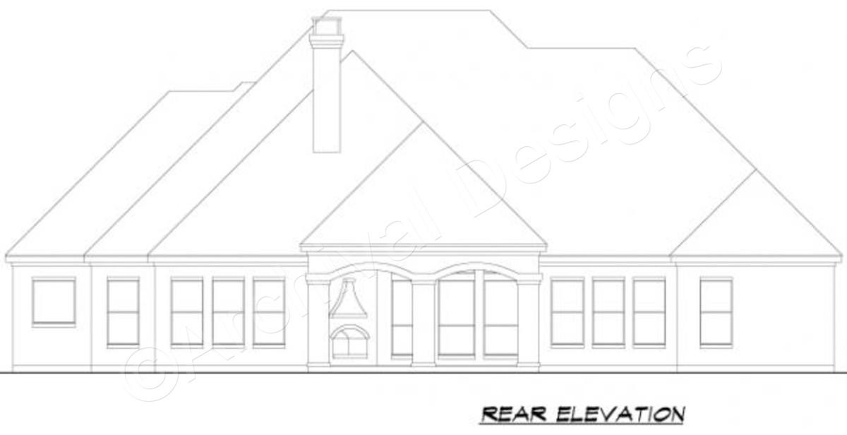 Courtyard clipart ranch house Rear Courtyard Floor Plans Plans