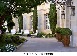 Courtyard clipart monastery Photography stylish  mansion Images