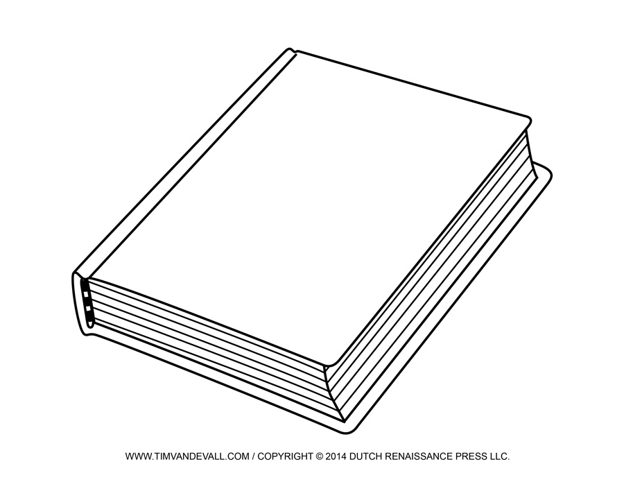 Bobook clipart black n white Blank Cover Art Cover Reading