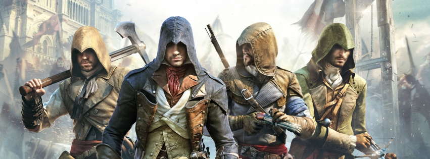 Cover clipart assassin's creed unity Unity Creed: Assassin's Game Creed