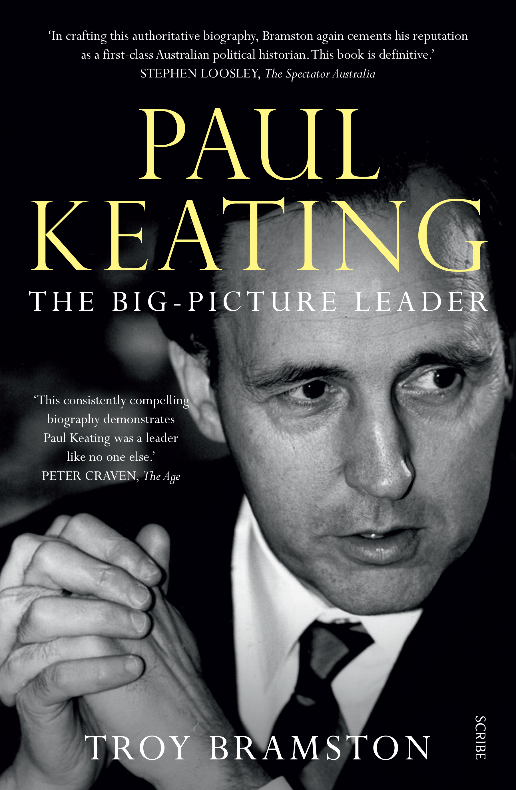 Cover clipart biography book Australia Paul Keating Books Scribe