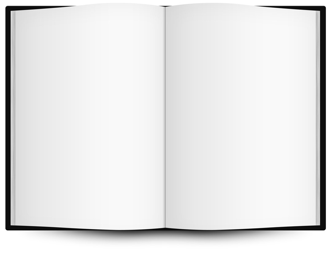 Cover clipart blank Clip Book Gallery Art Free