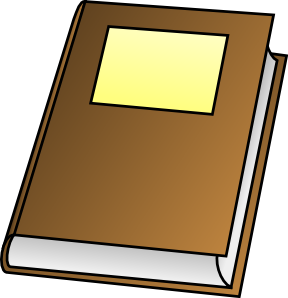 Cover clipart closed book #10