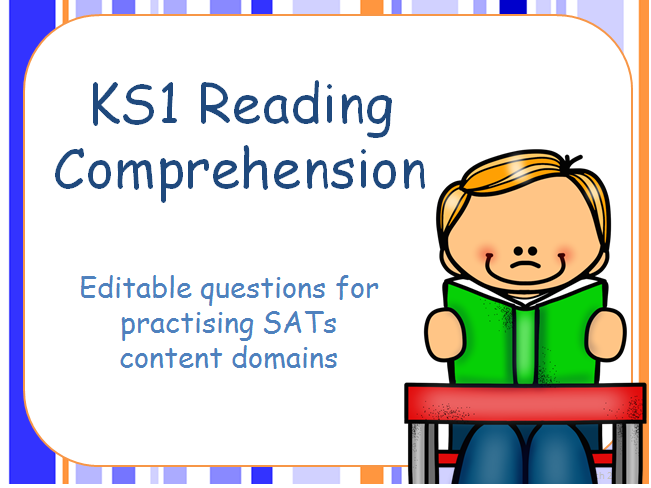 Cover clipart comprehension Question Comprehension Editable and Reading