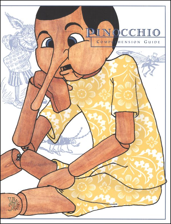 Cover clipart comprehension Guide Main Pinocchio Comprehension Comprehension