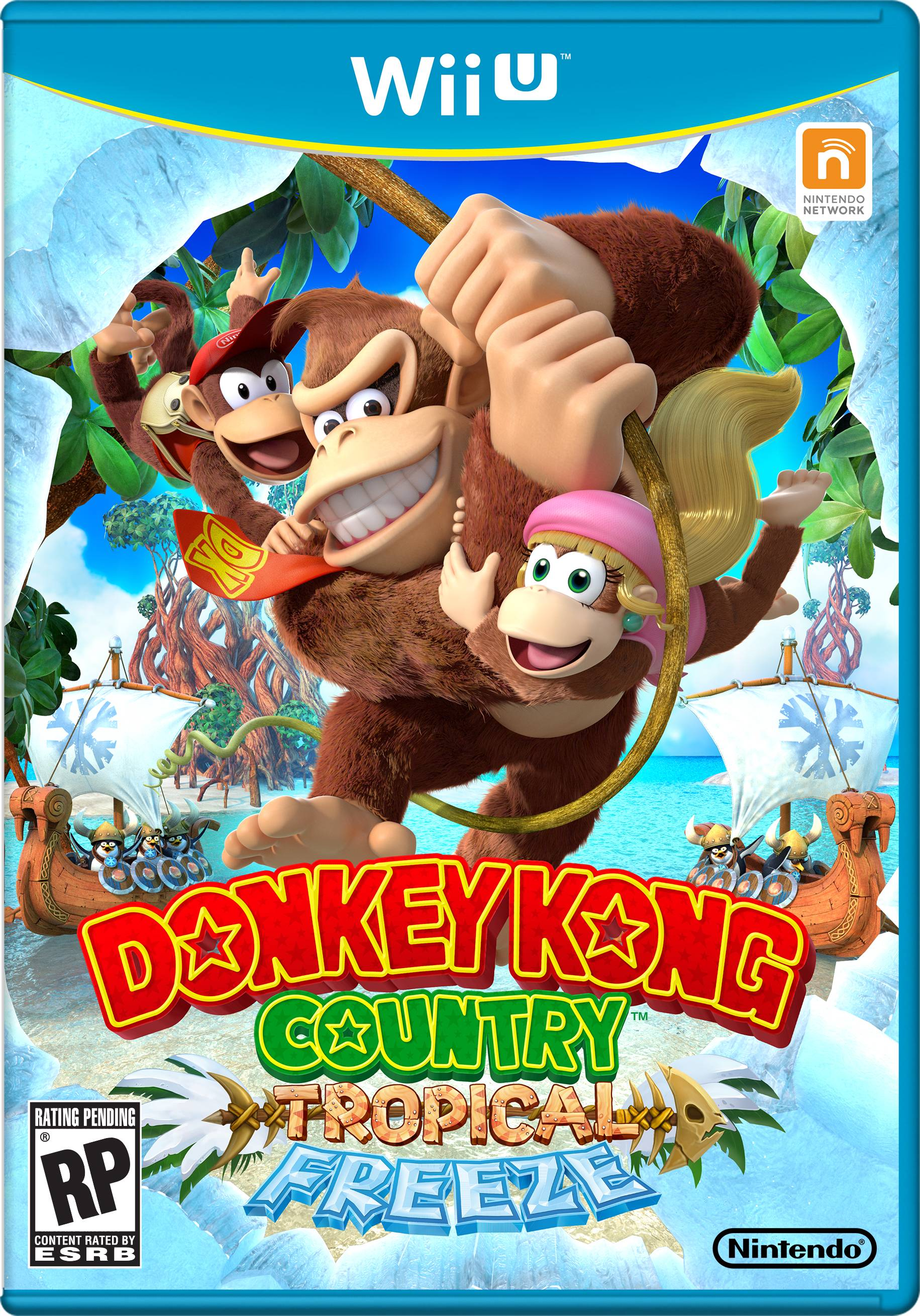 Cover clipart donkey kong tropical freeze Box The Kong Country