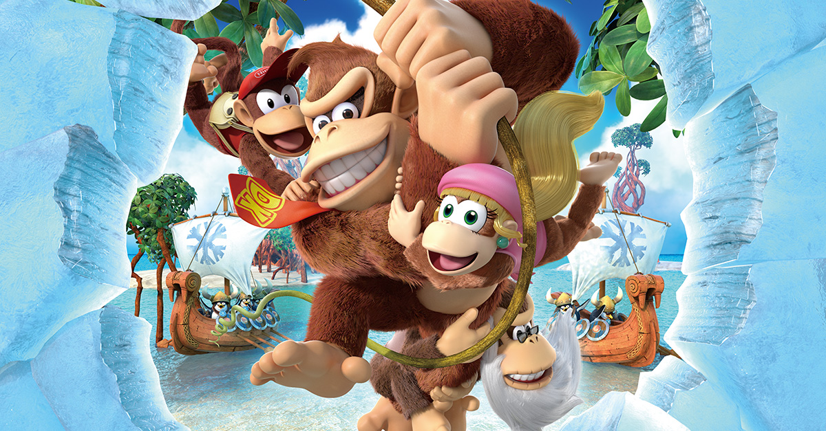 Cover clipart donkey kong tropical freeze #6