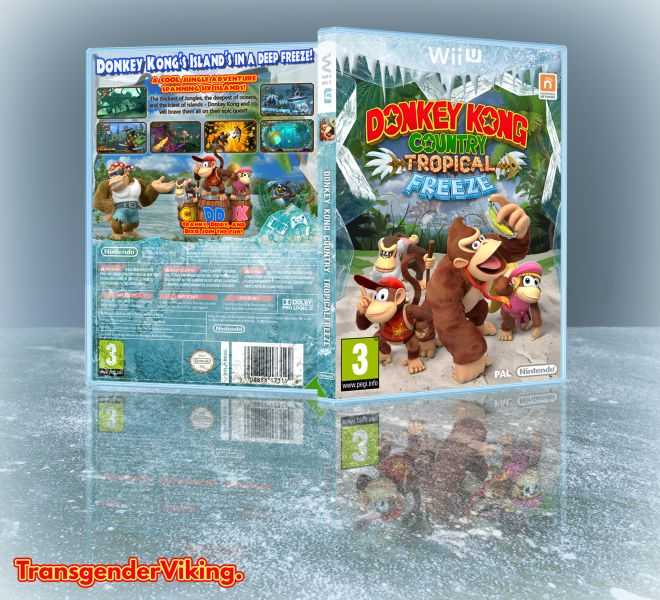 Cover clipart donkey kong tropical freeze #8