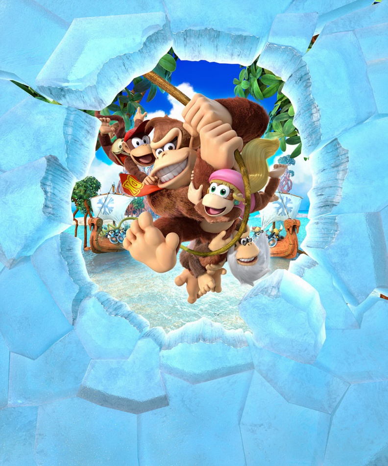 Cover clipart donkey kong tropical freeze Country: Freeze Concept Neoseeker Tropical