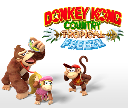 Cover clipart donkey kong tropical freeze #4