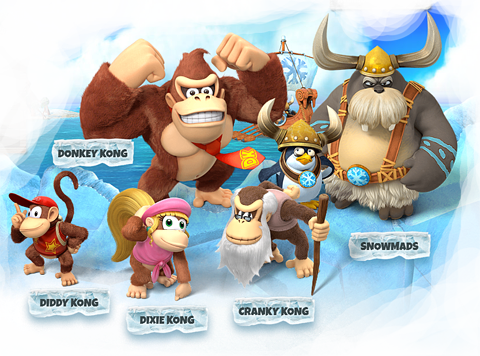 Cover clipart donkey kong tropical freeze #2