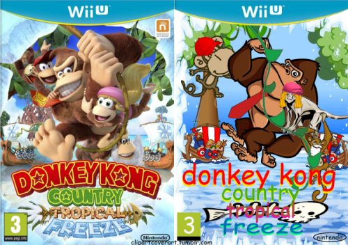 Cover clipart donkey kong tropical freeze #10