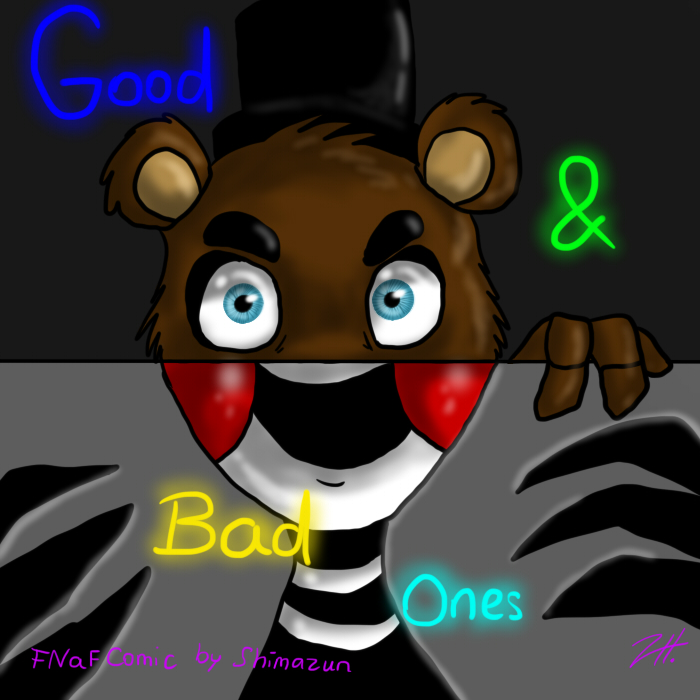 Cover clipart fnaf On ZONE COMIC Ones Good