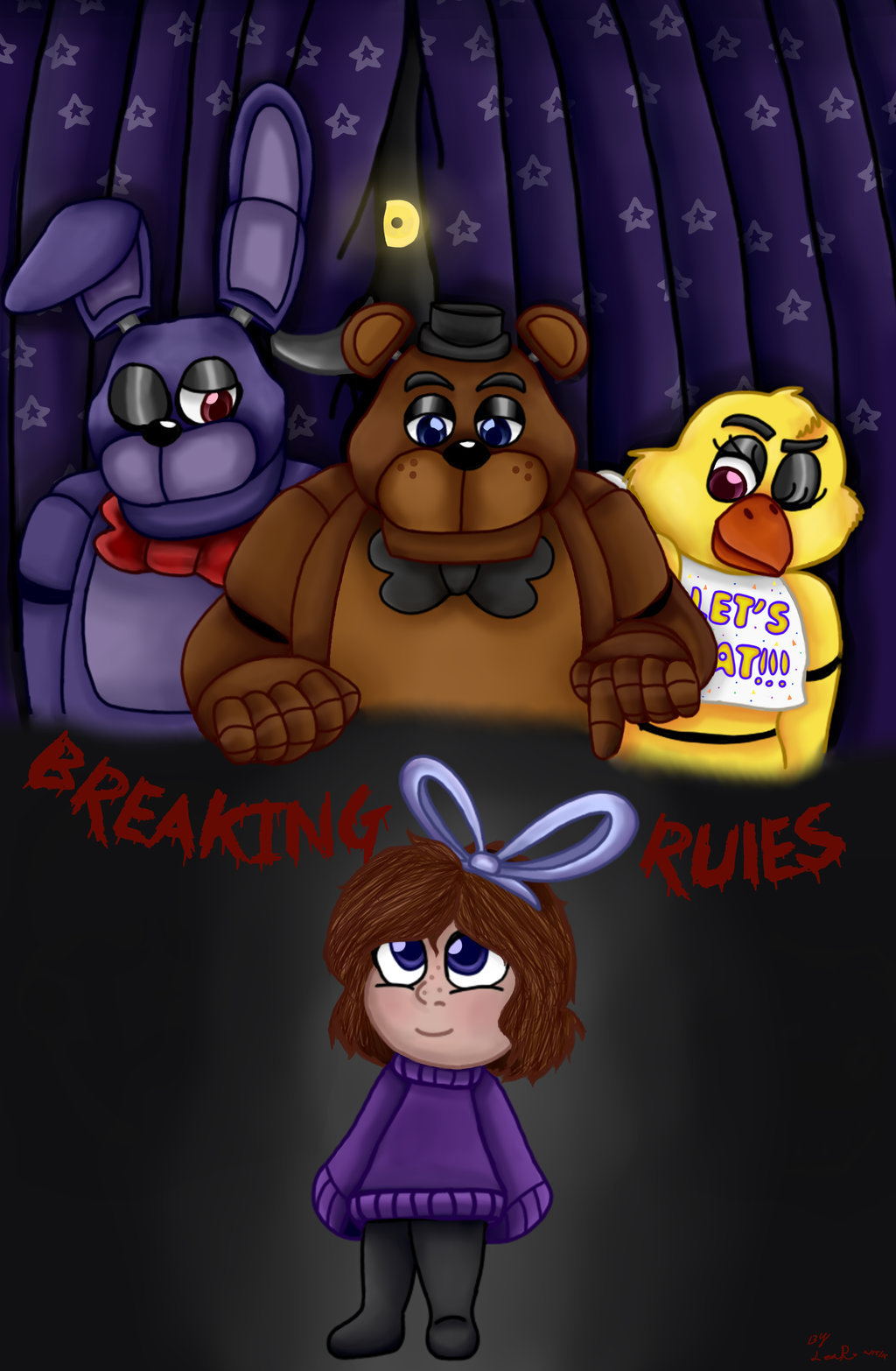 Cover clipart fnaf Comic SnickersNDoodles SnickersNDoodles by Rules