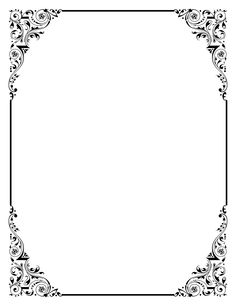 Covered clipart border Frame pink border royalty party