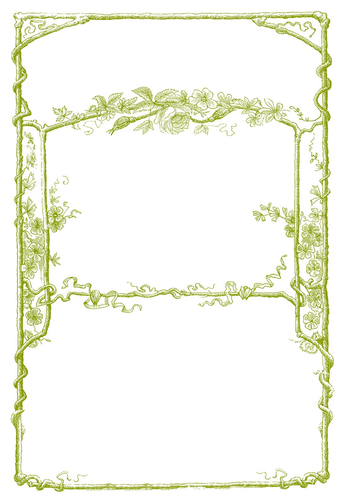 Cover clipart frame Art Bois Click Vintage enlarge