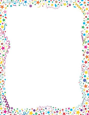 Cover clipart frame To Scrapbook Confetti for Clipart