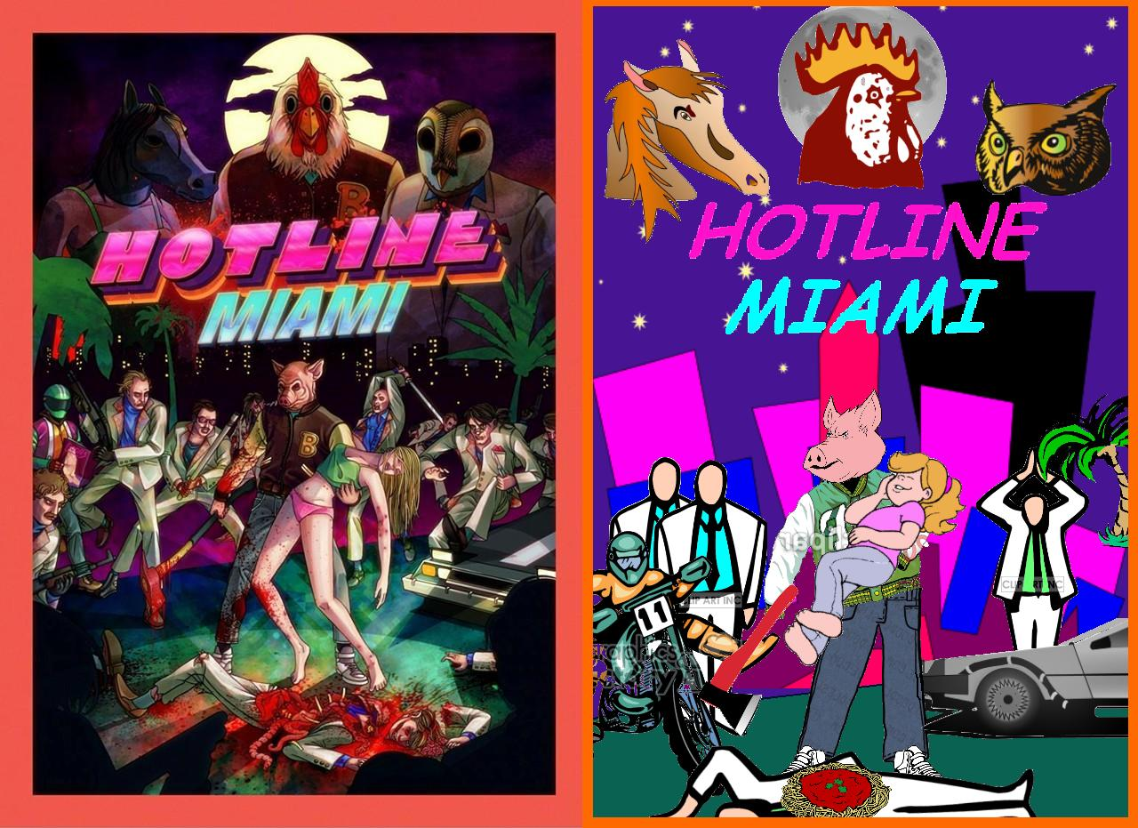 Covered clipart video game Comic Hotline Art in /r/Hotlinemiami)