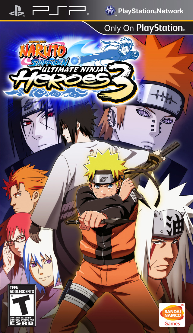 Cover clipart naruto game Heroes < 3 Shippuden 3