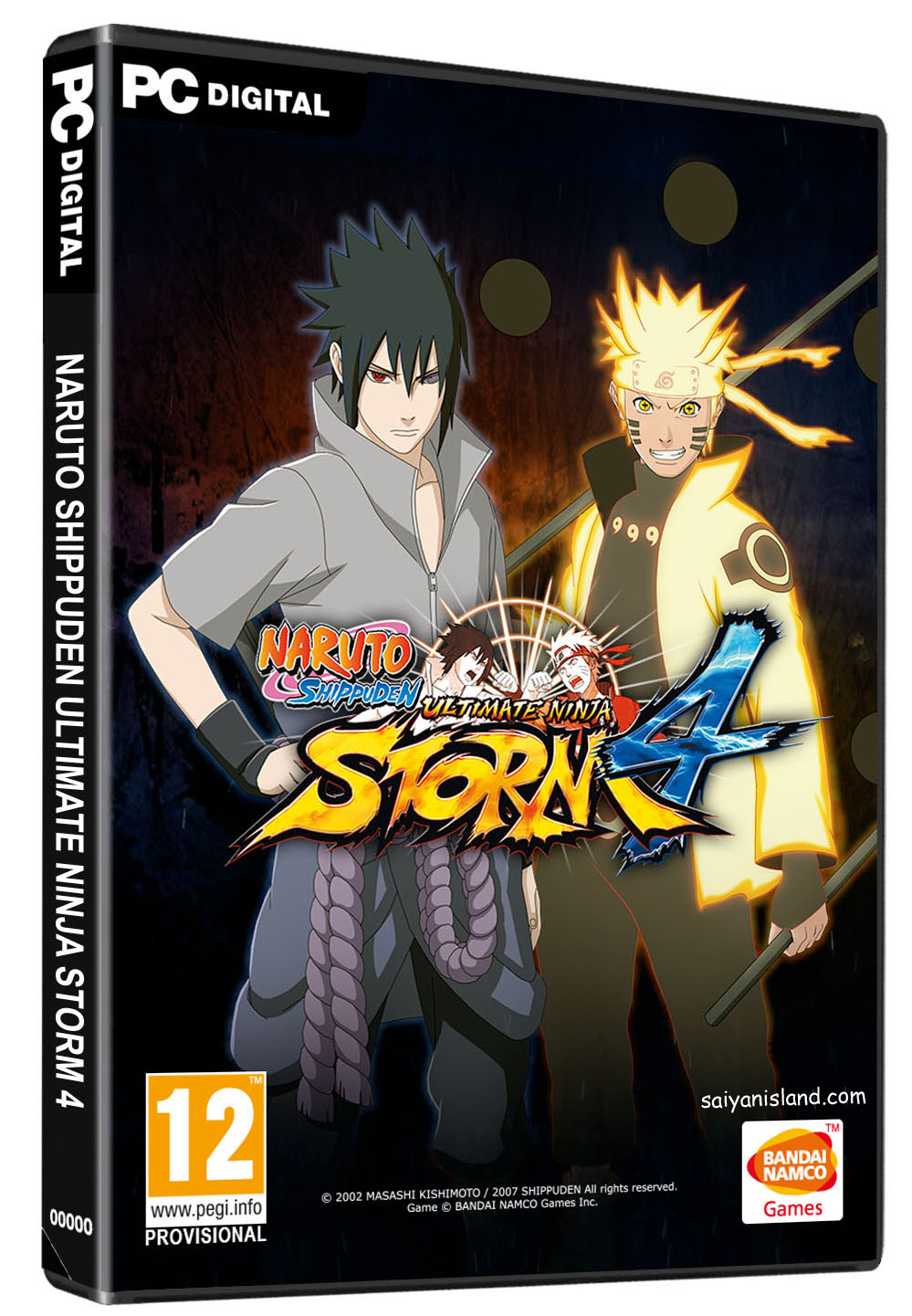 Cover clipart naruto game Screenshots Side English  and