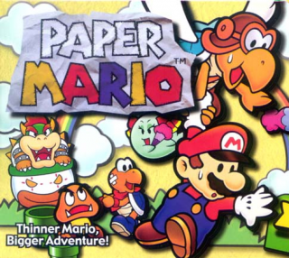 Cover clipart paper mario Franchise Colorful Mario the Look