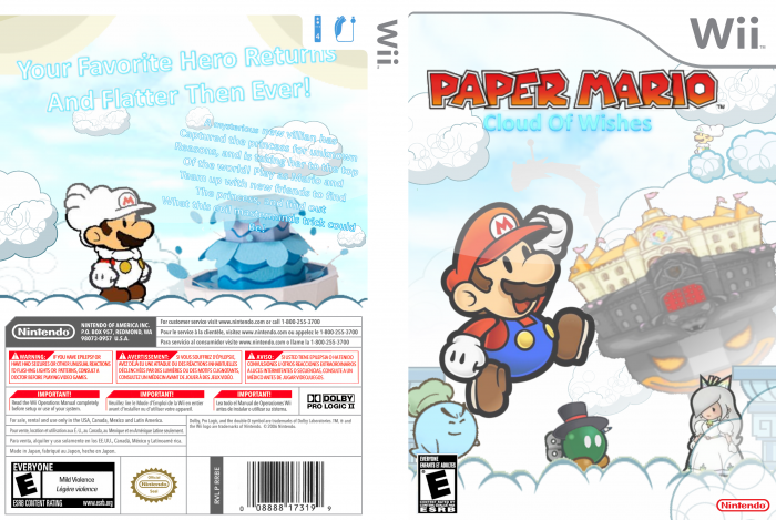 Cover clipart paper mario Mario: Wishes Count Cover Wishes