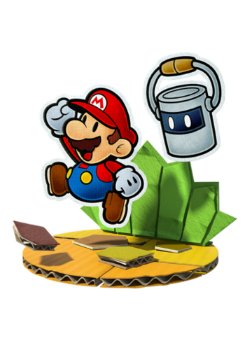 Cover clipart paper mario Paper Hammer for Paper solve