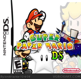 Cover clipart paper mario DS Box lordblackie box Cover