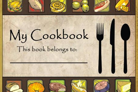 Cover clipart recipe book Clip Cookbook DA batzler103 Art