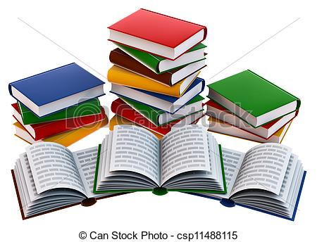 Covered clipart school book Illustration Stock for of of