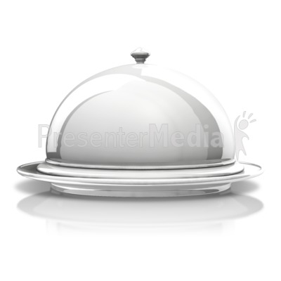 Cover clipart silver platter Formal Display ID# A from