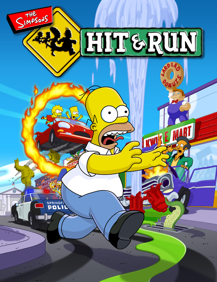 Covered clipart simpsons hit and run Jpg Run Hit The Hit