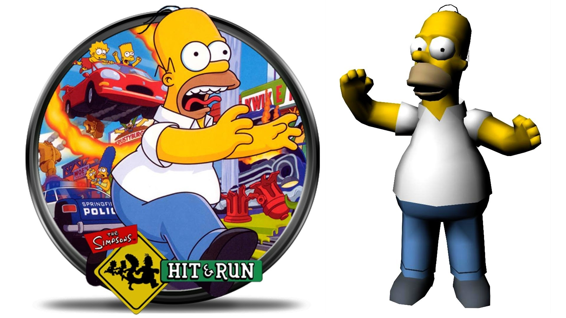 Covered clipart simpsons hit and run #1 Hit Simpsons!!! GTA SIMPSONS: