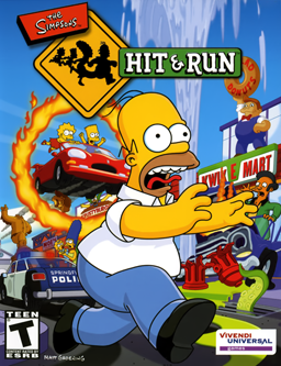 Covered clipart simpsons hit and run And  Run The_Simpsons_Hit_and_Run_cover Simpsons