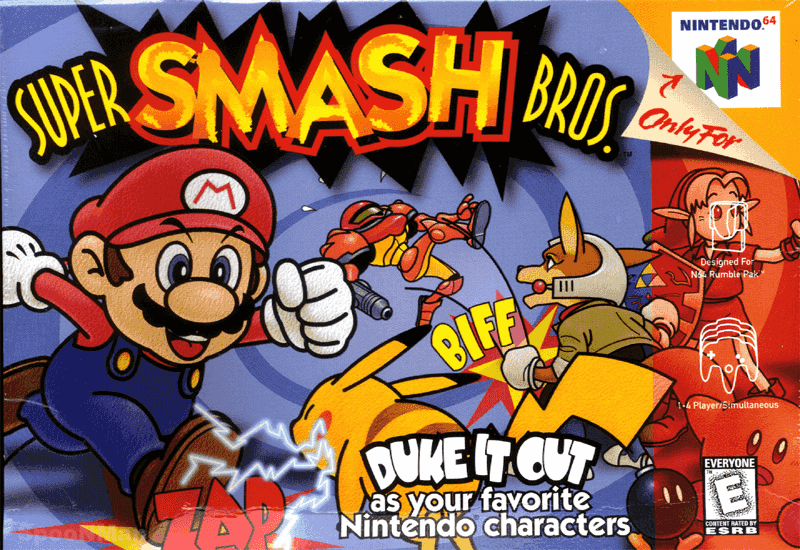 Covered clipart super smash bro Super Font Bros  Smash