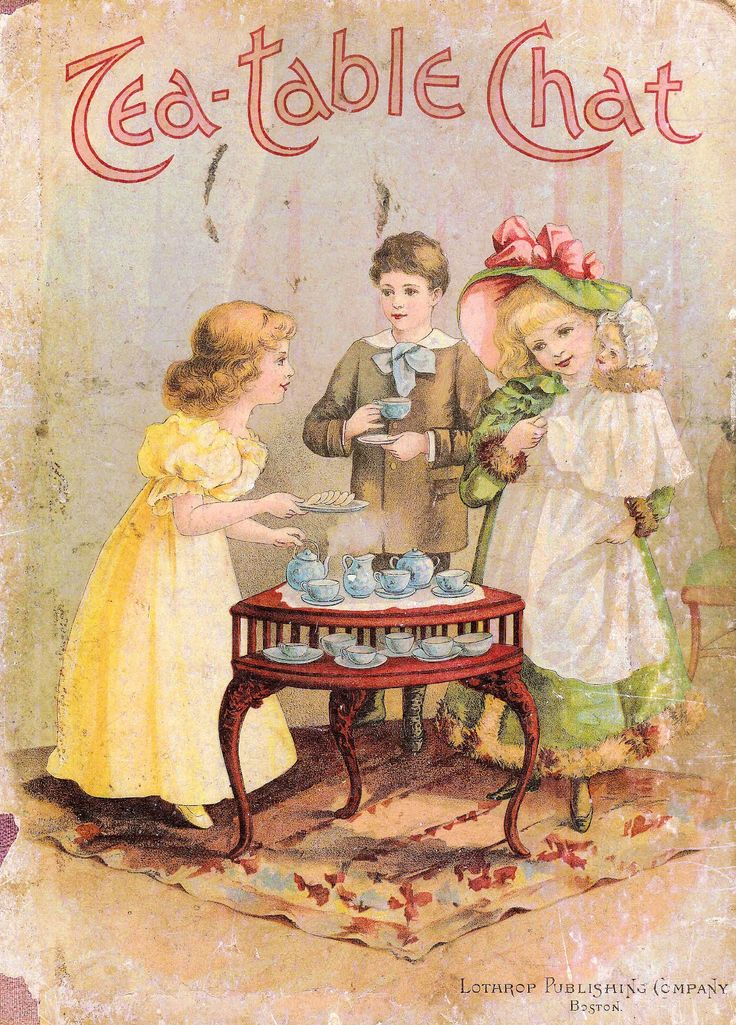 Cover clipart tea table Enjoying on #Victorian a images