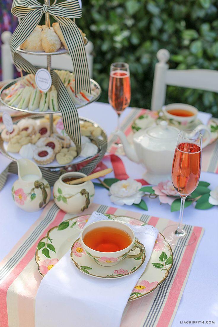 Cover clipart tea table Host Tea an on Best
