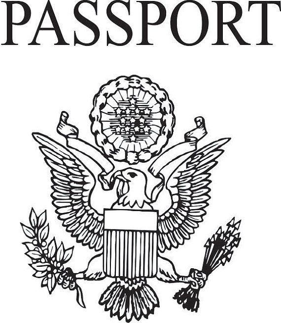 Cover clipart us passport Stamps travel and 5720 travel