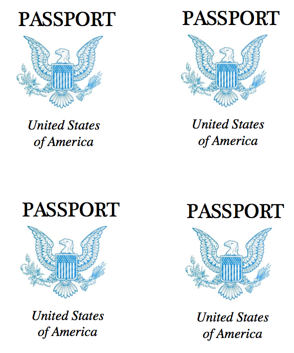Cover clipart us passport Leader: The Passports Making Making